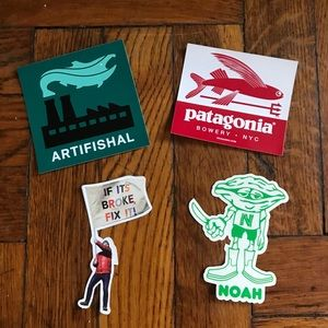 Patagonia mixed sticker pack